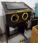 Lot 13 - Guyson Formula F1400 Shot Blasting Cabinet & Dust Extractor