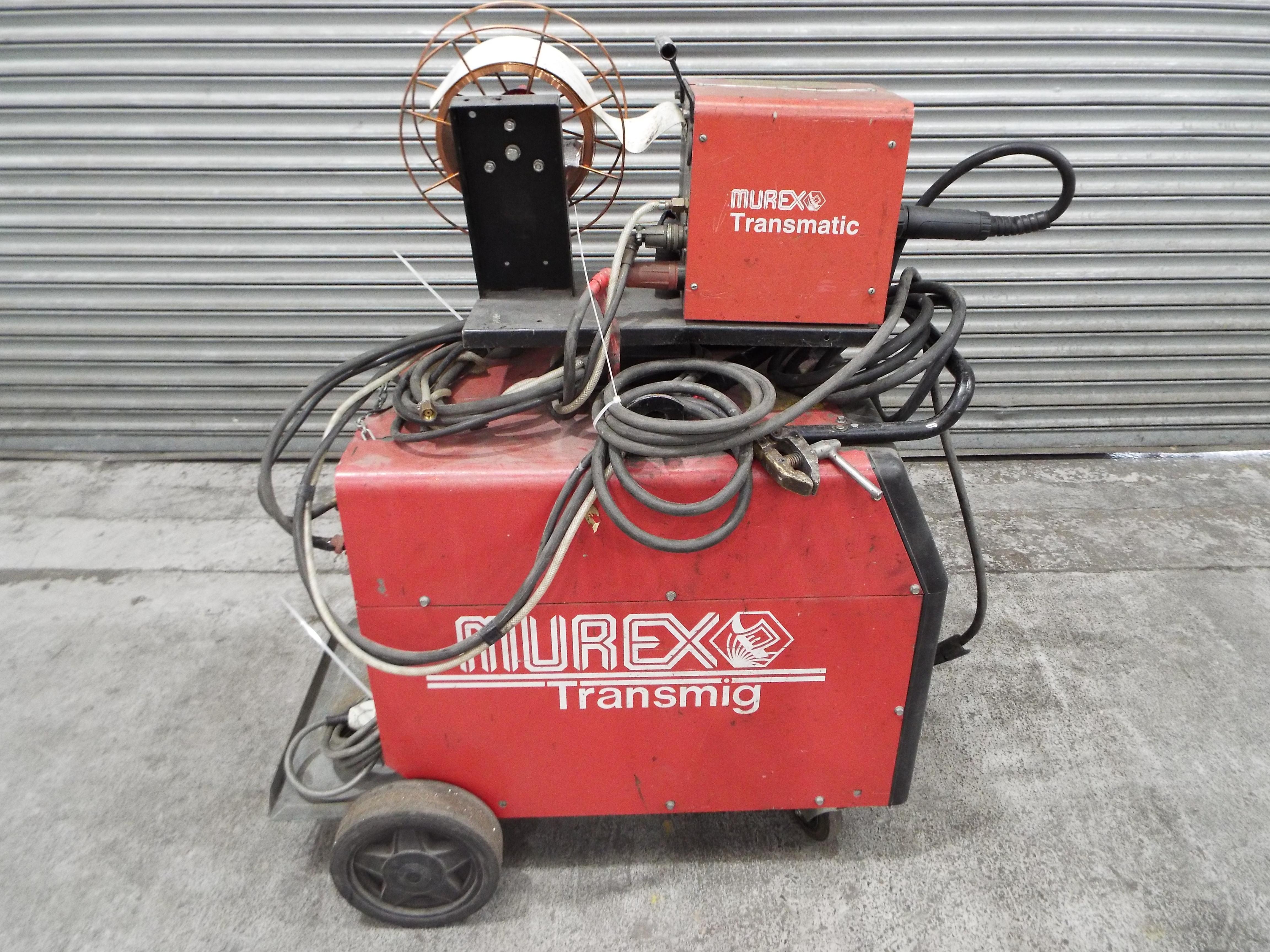 Lot 14 - Murex Transmig Weld Set complete with a Murex Transmatic 2 x 2