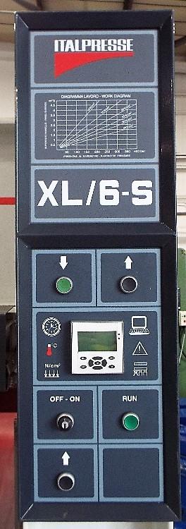 Lot 3 - Italpresse XL6-S Hydraulic Hot Forming Press.