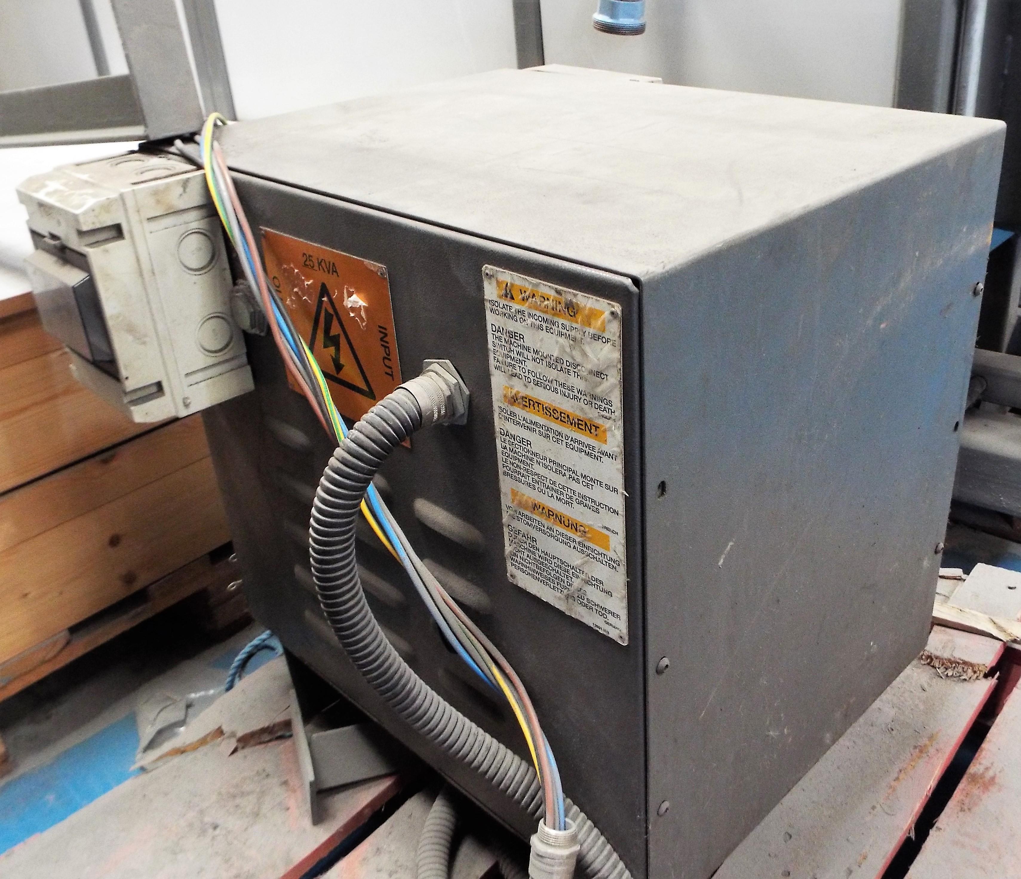 Lot 7 - T Nixon Gas Fired De-Waxing, Sintering Chamber