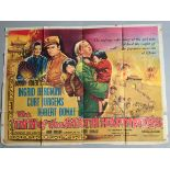 """The Inn of the Sixth Happiness (1958) original 1st release British Quad Film Poster 30x40"""" Starring"""