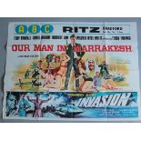 """Collection of Spy themed British Quad Film Posters each measuring 30 x 40"""" including: The Glass"""