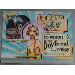 THE BOY FRIEND 1971 first release rolled British Quad film poster with Art Nouveau style artwork
