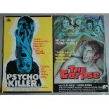 16 Horror genre British Quad film posters including Psycho Killer / The Corpse X cert d/b,