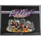 """PINK FLOYD """"Live at Pompeii"""" 1972 British Quad film poster plus """"The Valley"""" British Quad film"""
