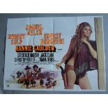 """Collection of Western genre British Quad Film Posters 30x40"""" including: The Rare Breed (1966)"""