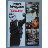 Collection of foreign posters & lobby cards including German Bullitt (23 x 33 inch),