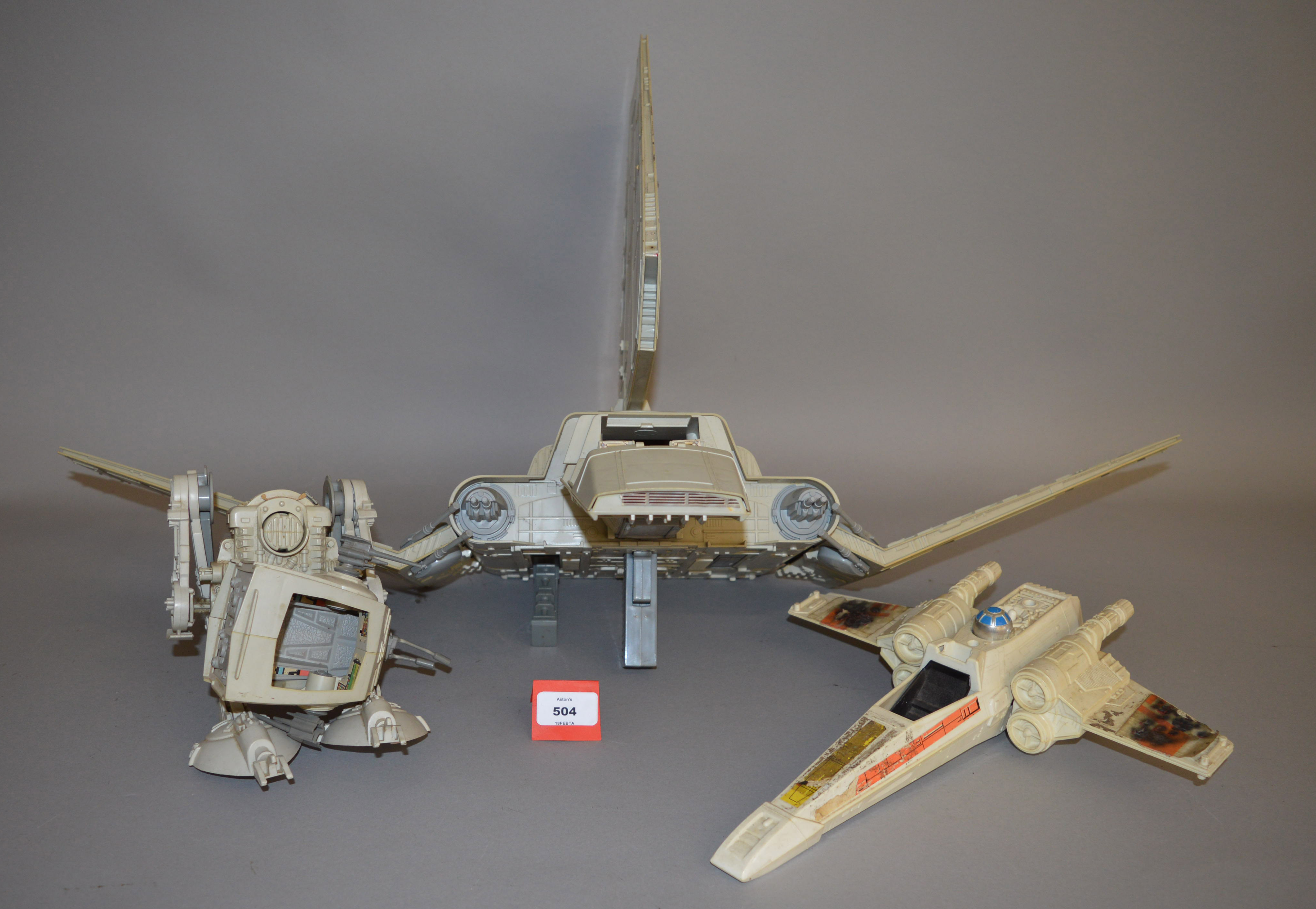 Quantity of unboxed Kenner Star Wars vehicles Imperial Shuttle