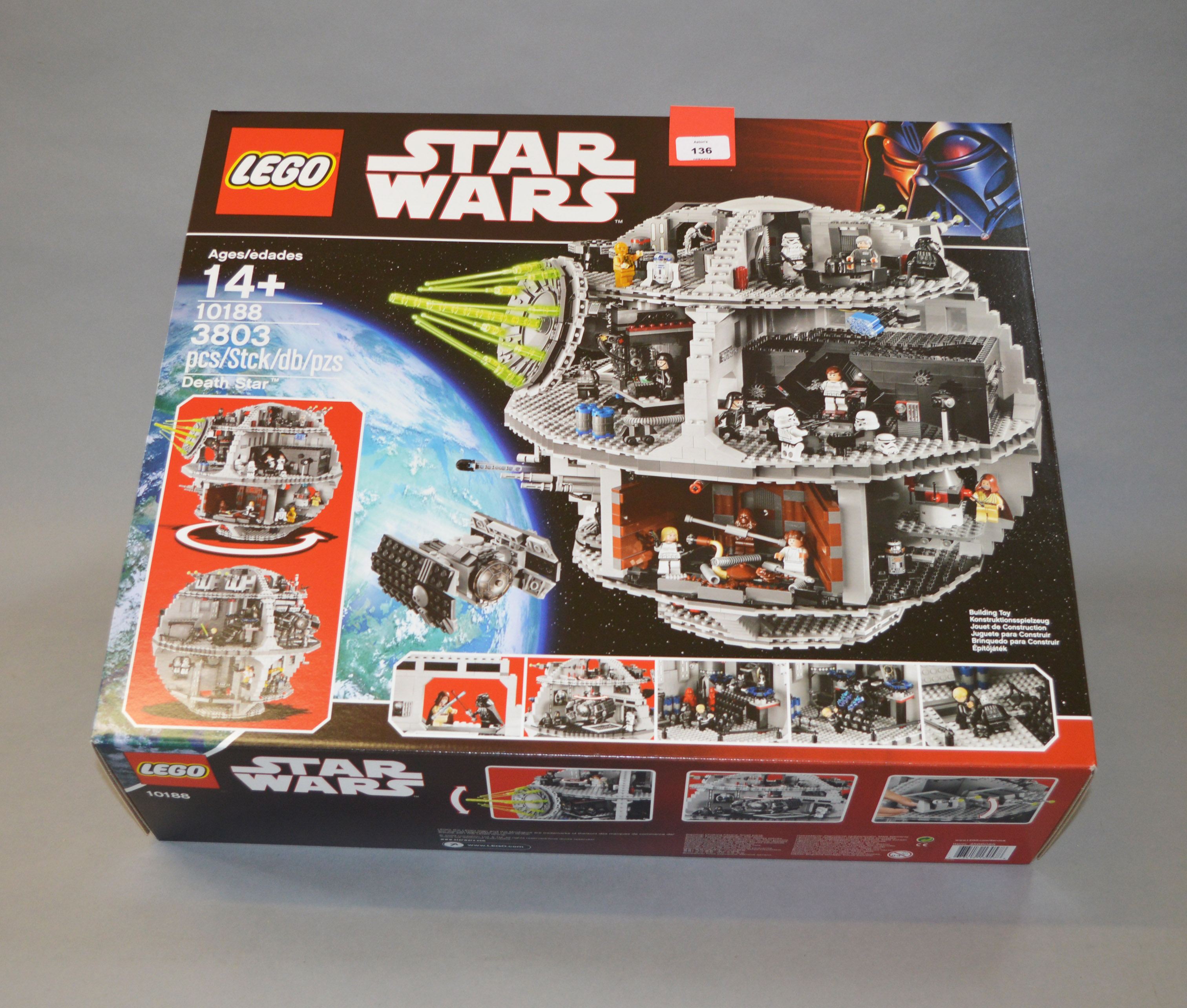 Lego Star Wars 10188 Death Star Unopened In E Box