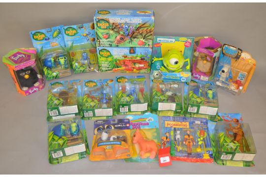Quantity Of Children39s Toys And Figures Including A Bug39s