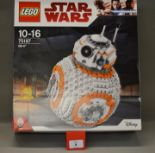 Lot 8 - Lego Star Wars 75187 BB-8, sealed.