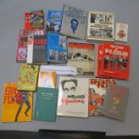 Lot 55 - Bob Monkhouse books inc The Groucho phile HC, Marx Brothers, Spencer Tracy, Steve McQueen,