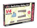 Lot 21 - N gauge. Kato 20-863-1 Unitrack Variation 4 Switching Siding Set. Boxed and E.