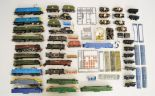 Lot 53 - A quantity of unboxed Locomotives, castings and parts by Hornby and others,