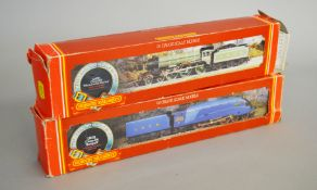 OO Gauge. Two boxed Hornby Railways Locomotives, R.372 LNER Class A4 'Seagull' and R.