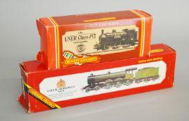 OO Gauge. Two boxed Hornby Railways Locomotives, R.150 LNER B12/3 and R.861 LNER 0-6-0T Class J52.