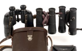 Three Good Pairs of Binoculars.