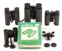 5 Pairs of Asahi Pentax Binoculars.