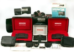 Minox 35mm Collection. Comprising Minox Touring limited edition camera #2890 of 3333 produced.
