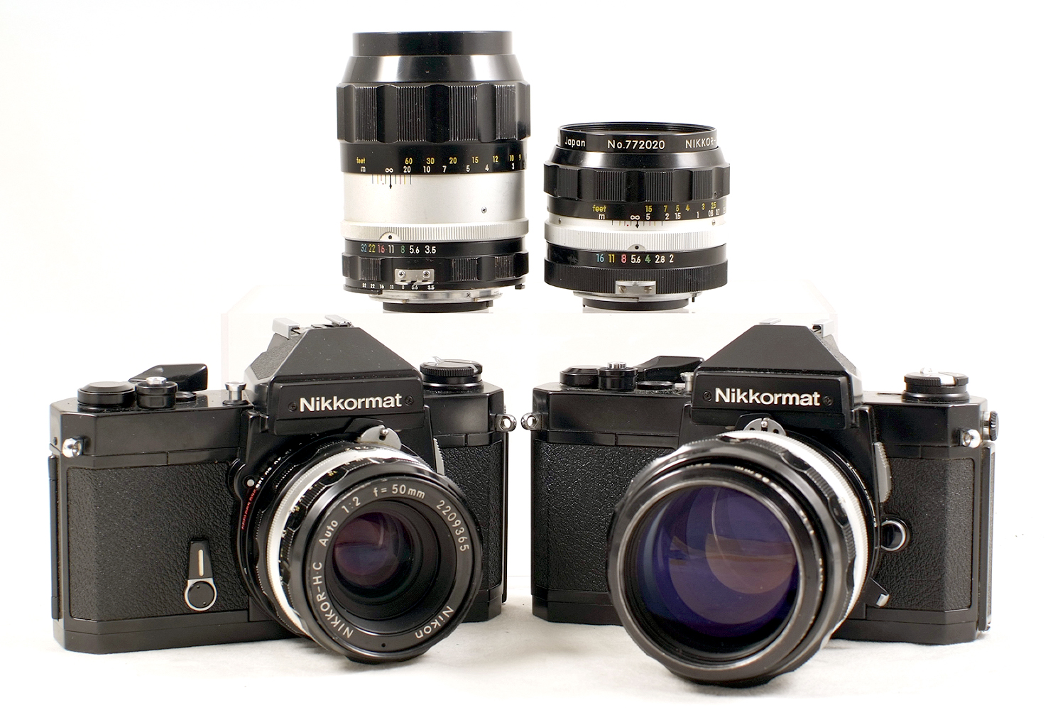 Lot 31 - Extensive Nikkormat FT2 Outfit.
