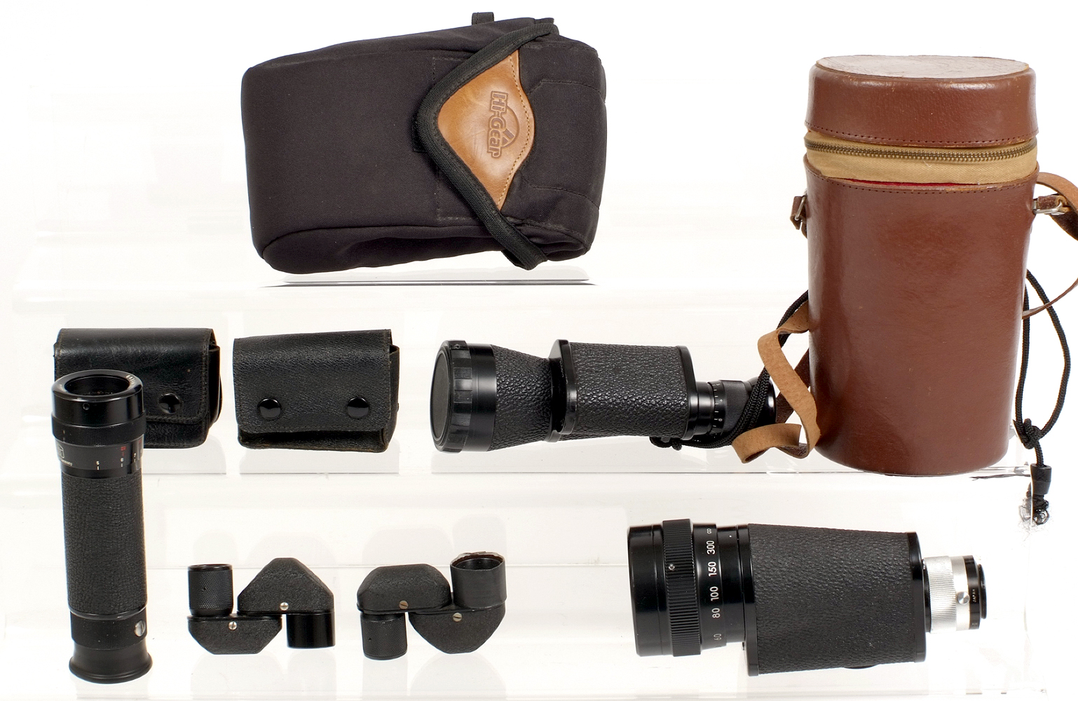 Lot 42 - A Collection of Monoculars.