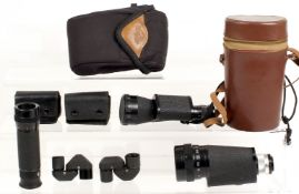 A Collection of Monoculars.