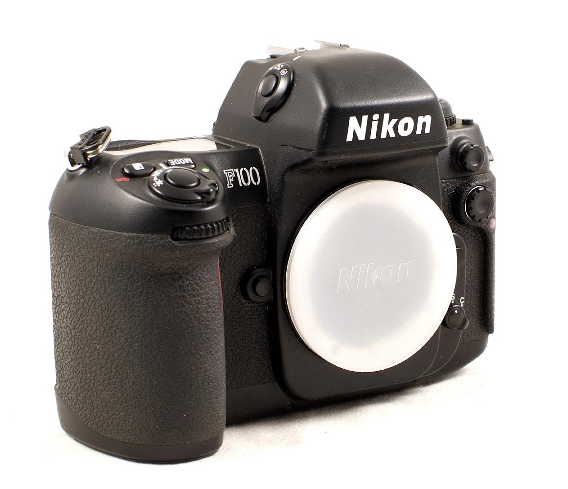 Lot 33 - Nikon F100 Pro Film Camera #2106906. (Covering slightly sticky, hence condition 5/6F).