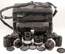 Extensive Nikkormat FT2 Outfit.