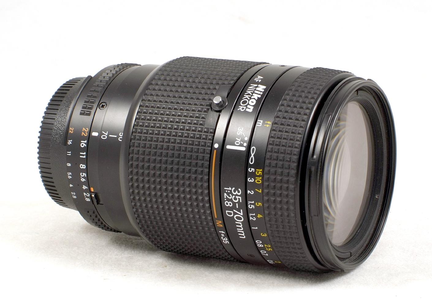 Lot 39 - Nikon 35-70mm f2.8 D Auto-Focus Zoom Lens. #806071.