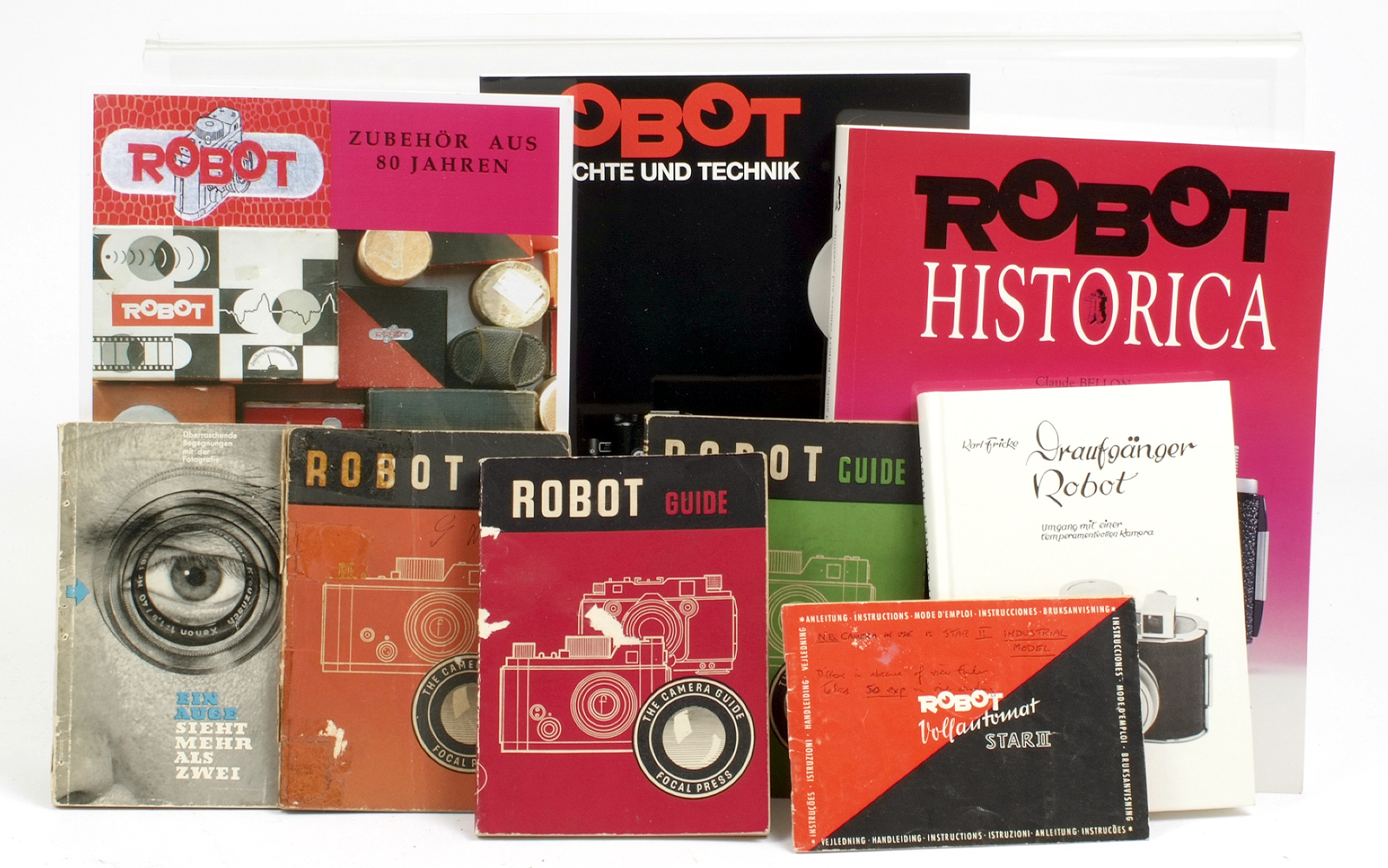 Lot 26 - A Quantity of Robot Books. To include Robot Historica, Focal Guides etc.