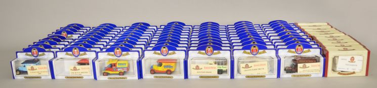 80 x Oxford Diecast models, eight different models, limited editions and mostly with certificates.