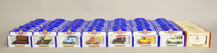 72 x Oxford Diecast models, eight different models, limited edition and mostly with certificates.