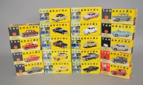 19 x Lledo Vanguards diecast models, mainly cars. Boxed and overall appear VG/E.