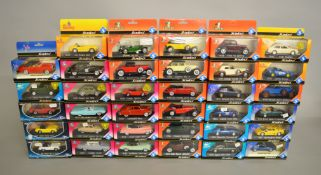 35 x Solido diecast model cars, including Racing, Yesterday, Sixties and Today ranges.