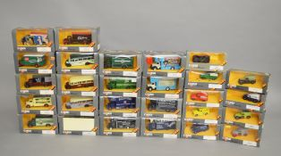 27 x Corgi diecast models, including Bedford O Series, in grey window boxes. Boxed and E.