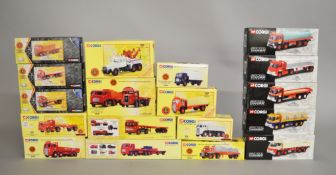 18 x Corgi British Road Services diecast models. Boxed and E.