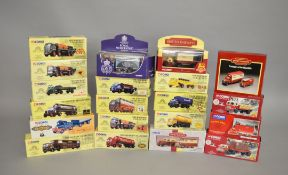 20 x Corgi diecast models, mostly British Rail and Brewery Collection. Boxed and E.