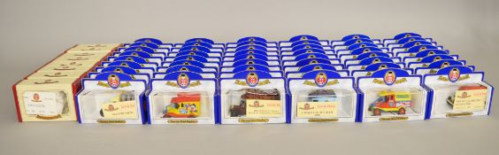 56 x Oxford Diecast models, seven different models, limited edition and mostly with certificates.