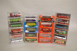 21 x Corgi Original Omnibus Company diecast model buses.