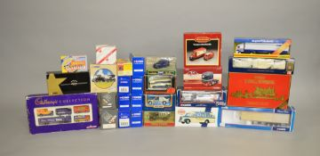 26 assorted diecast models.