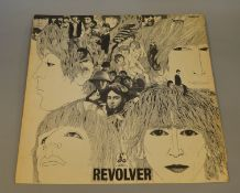 "The Beatles ""Revolver"" PMC 7009 1st pressing from 1966 with ""Gramophone co ltd Sold in UK"" on label,"