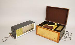 Ferguson Radio and a Collaro High Fidelity Record Player.