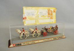 An unboxed Corgi Toys '1902 State Landau' model,