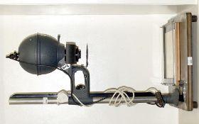 Leitz Focomat Enlarger with 5cm f4.5 Focotar Lens. Also Leitz heavy duty masking frame.
