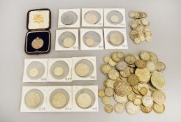A quantity of pre 47 coins approx 395gms,