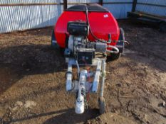 Towed pressure washer bowser