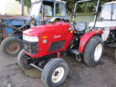 SIROMA 4WD TRACTOR C/W ROLL BAR.