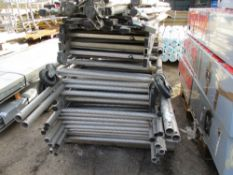 PALLET OF LIGHTWEIGHT TOWER SCAFFOLD SECTIONS