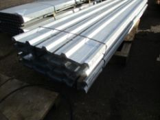 100NO 12FT X 0.87METRE WIDE BOX PROFILED GALVANISED ROOFING SHEETS