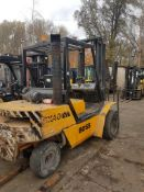 Boss sx40d 4 ton forklift diesel Perkins engine twin wheel full width carriage with side shift